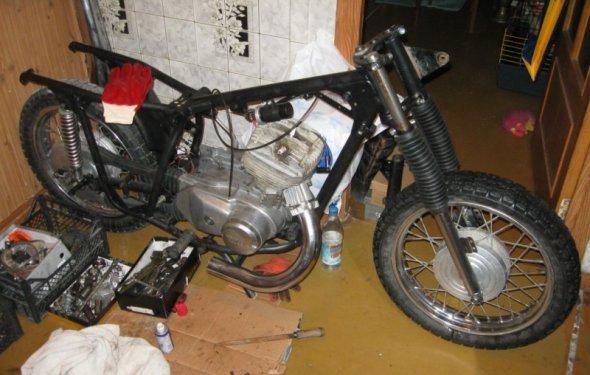 Изначально мотоцикл был