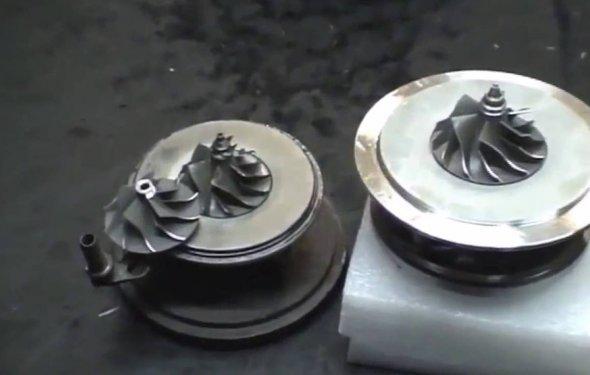 Этапы ремонта турбин