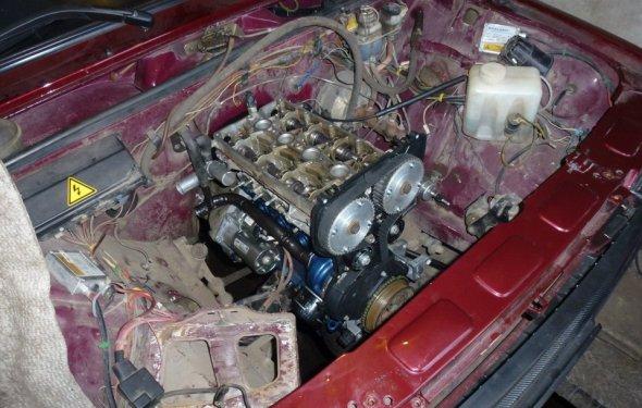 AMC! мотор собран! катаемся и