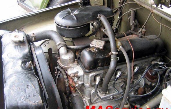 Ремонт двигателя УАЗ-469 и