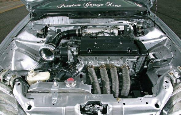 Форсированный двигатель honda