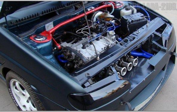 Тюнинг двигателя 8 клапанный инжектор своими руками 69